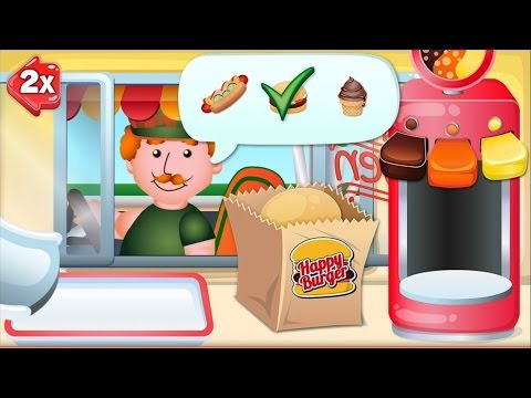 Drive In King - Burger Restaurant Game For Kids, IPad IPhone