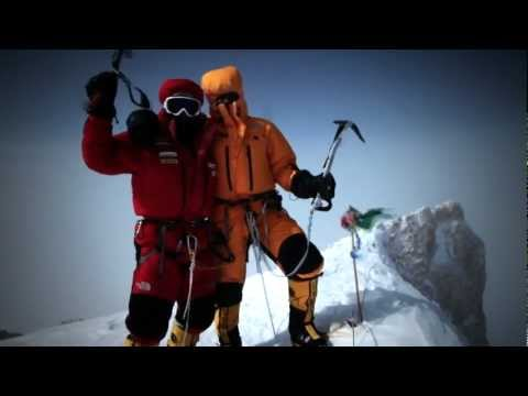 the north face - Gasherbrum II First Winter Ascent Ever by The North Face® athletes Simone Moro, Denis Urubko and Cory Richards. On the 2nd of February 2011, they made histor...