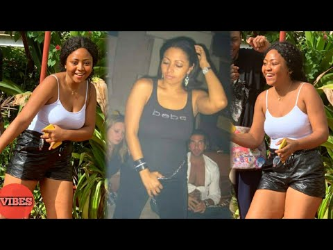 See What Regina Daniels Did To Psquare Wife Lola In A Dance Competition!