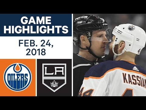 Video: NHL Game Highlights | Oilers vs. Kings - Feb. 24, 2018