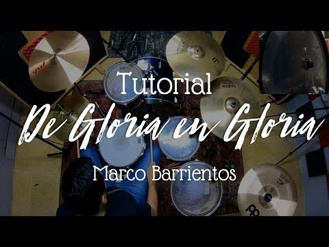 "Tutorial ""De Gloria En Gloria"" - Marco Barrientos 🎧"