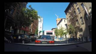 Audi A4 - Queens to New Jersey GoPro Dashcam Timelapse