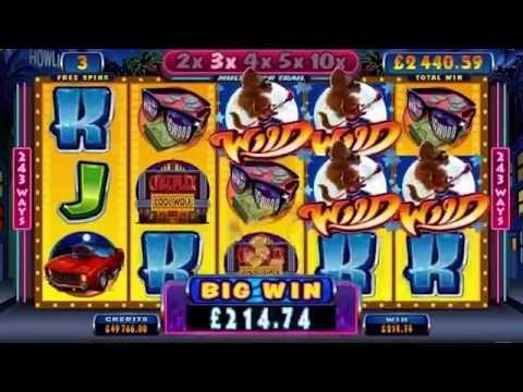 COOL WOLF +HUGE WIN! +BONUS! +FREE GAMES! online free slot SLOTSCOCKTAIL microgaming