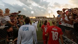 Cary (NC) United States  City new picture : U.S. WNT Beat Switzerland in front of Sold Out Crowd in Cary