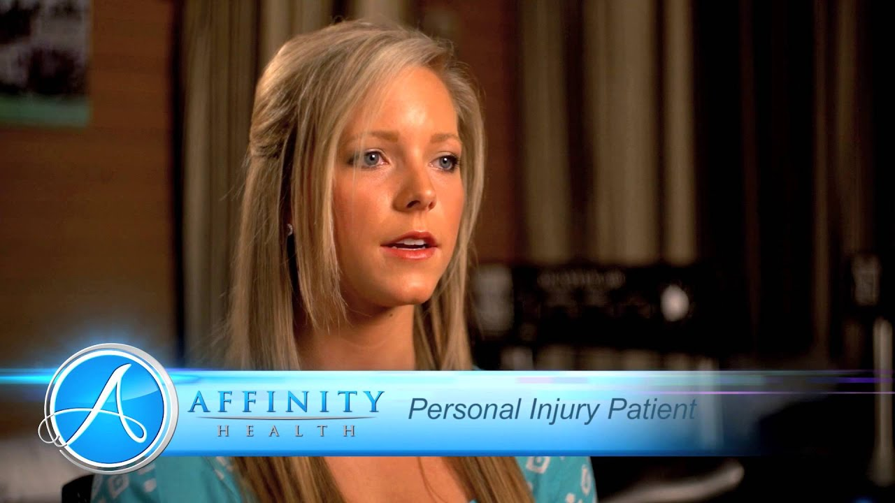 Affinity Health  and Wellness -Personal Injury - Promotional Video