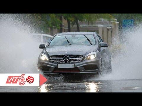 Kỹ năng lái xe an toàn khi trời mưa