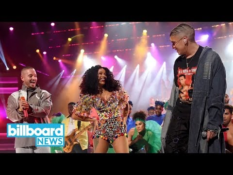 Video Cardi B, Bad Bunny & J Balvin May Have Had the Best AMAs Performance! Do You Agree? | Billboard News download in MP3, 3GP, MP4, WEBM, AVI, FLV January 2017