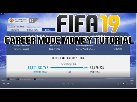 FIFA 19 Career Mode Tutorial: How To Get 1 BILLION Transfer Budget!