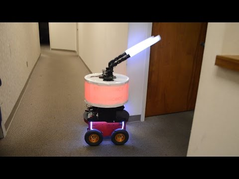 Trusting a robot in an emergency
