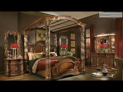 Charmant Villa Valencia Canopy Bedroom Collection From Aico Furniture | Hot Videos  2018