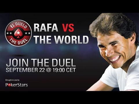 Poker - Watch Rafa Nadal take on the rest of the world in poker! Streamed live to you from the official PokerStars channel – witness Rafa complete against some of the best poker players live!