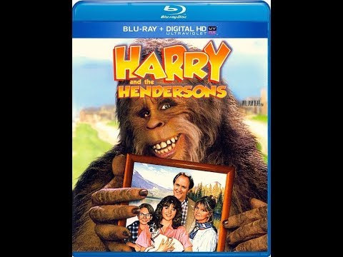 Harry And The Hendersons Blu-ray Unboxing
