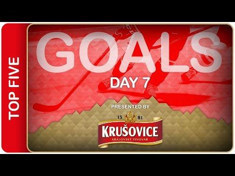 Video : VIDEO : TOP 5 gólů sedmého dne MS v hokeji 2016