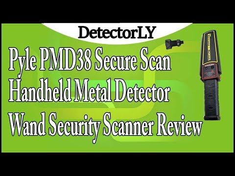Pyle PMD38 Secure Scan Handheld Metal Detector Wand Security Scanner Review