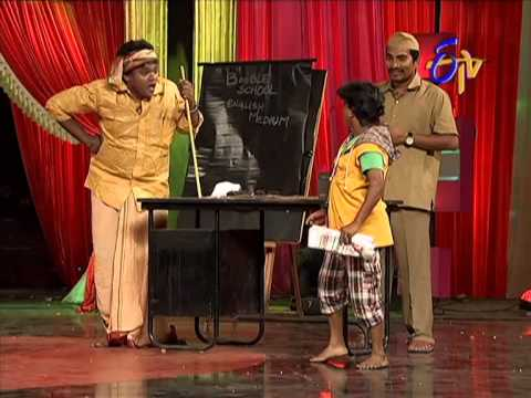Jabardasth    Shakalaka Shankar Performance on 10th April 2014