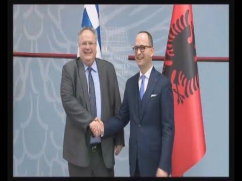 Ολοκληρώθηκε η επίσκεψη του ΥΠΕΞ Ν. Κοτζιά στα Τίρανα