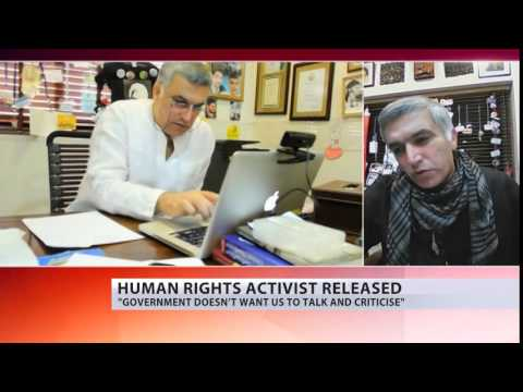 RT interview Nabeel Rajab