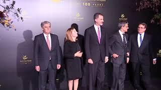 S.M. el Rey preside el acto del centenario de la Cámara de Comercio de EEUU en España