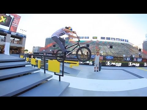 X Games BMX Street Day 2 - Dennis Enarson, Garrett Reynolds, Stevie Churchill & Bruno Hoffman