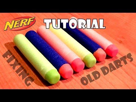 [TUTORIAL] How To Fix Old Nerf Darts / Repair Broken Nerf Darts