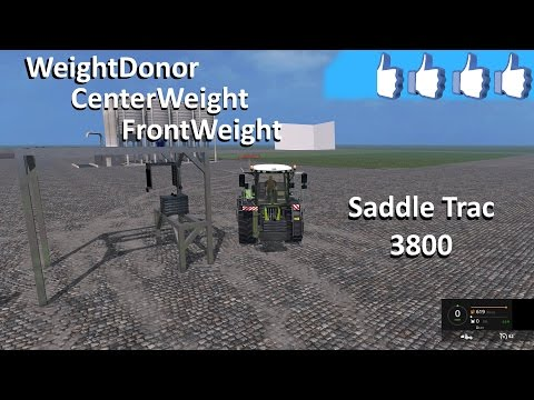 Weights donor Claas Xerion Saddle Trac v1.0 SP