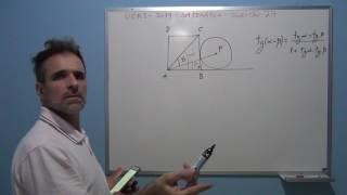 Professor Octavio resolve questão 27 de matemática do vestibular da UERJ 2017.