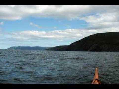 Kayaking the Tip of Cape Breton NS