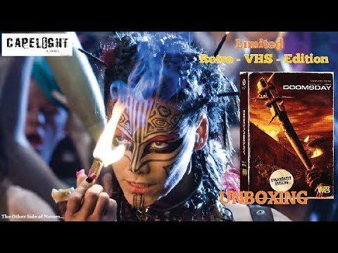 Doomsday (2009) I Limited Retro   VHS   Edition I Capelight I Unboxing