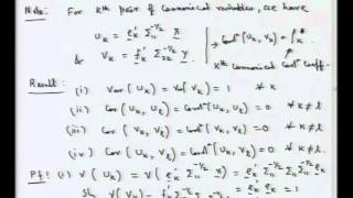 Mod-01 Lec-41 Canonical Correlation Analysis