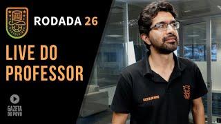 LIVE DICAS RODADA 26  CARTOLA FC 2019