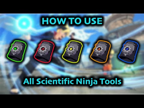 How to Use Each Ninja Tool - Naruto to Boruto Shinobi Striker