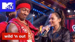 Mia Kang Kills the Beat Against Nick Cannon | Wild 'N Out | #Wildstyle