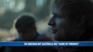"""Musiker Ed Sheeran legt in der neusten Folge von """"Game of Thrones"""" einen musikalischen Gastauftritt hin. In der am Sonntag in..."""