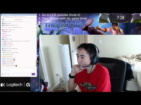 instructions - EDIT SORRY FOR INCORRECT INFO, I think twitch adds 25 second delay so add 25 seconds to the sync process sorry!) Open up this video and sync up the timer with the youtube vod: https://www.youtub...