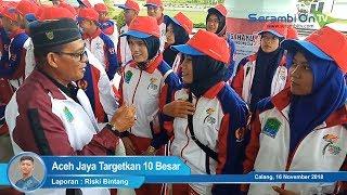 Aceh Jaya Targetkan 10 Besar PORA ke XIII di Jantho