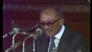 الخطاب الأخير للرئيس أنور السادات في مجلس الشعب كاملا 8