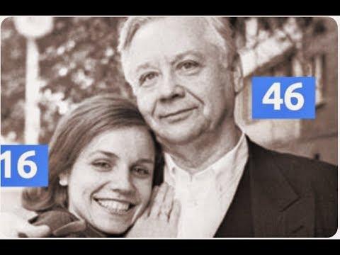 16 летняя девченка влюбилась в Олега Табакова, когда ему было 46 лет! Вот как живут супруги сейчас