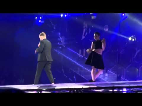 Justin Timberlake- Take Back The Night (Live at the Oracle Arena)