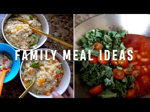 WHAT WE EAT IN A WEEK | FAMILY EVENING MEALS | JULY 2019