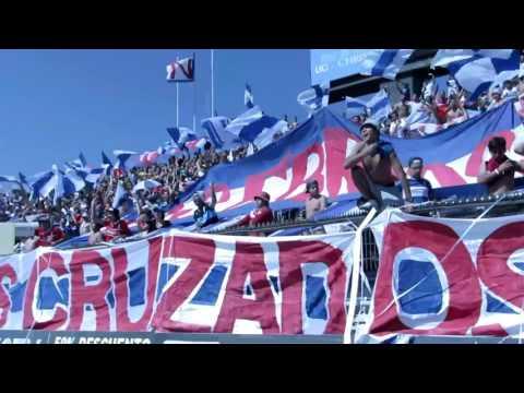 """BANDERAZO """"Porque es una locura total"""" UC - CC CLAUSURA 2015-16 - Los Cruzados - Universidad Católica"""