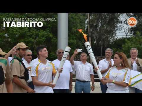 Reportagem Especial:  Passagem da Tocha Olímpica em Itabirito