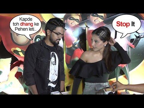 Hina Khan Gets EMBARASSED Of Boyfriend Rocky Jaiswal's Behavior In Public (видео)