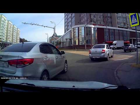 ДТП в Казани на улице Вишневского