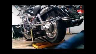 9. 2010 Triumph Rocket III Touring Tire Install