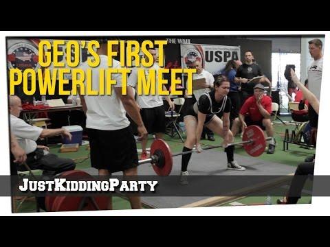 Geo's First Powerlifting Meet