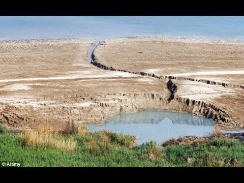 Apocalyptic! DEAD SEA! Being Eaten by 3,000 SINKHOLES!!