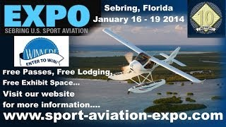 Sebring (FL) United States  city pictures gallery : U.S. Sport Aviation Expo, Sebring Regional Airport Sebring Florida.