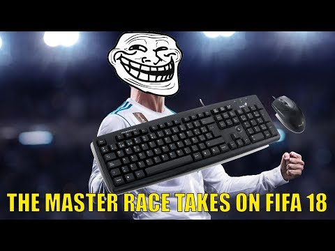 DON'T DO THIS! Playing FIFA 18 With A Mouse & Keyboard