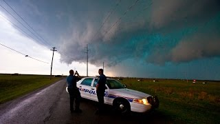 Lawton (OK) United States  city pictures gallery : Storm Chase - Lawton & Frederick Tornado Warned Storms, Oklahoma - 17th April 2013