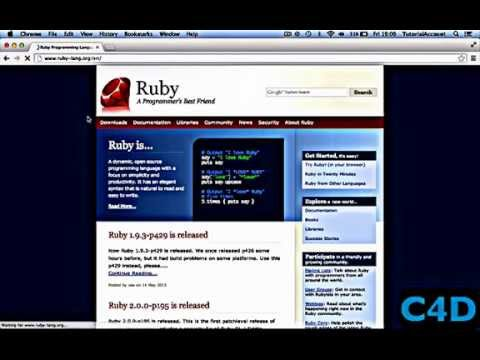 Ruby for beginners – Episode 1: Setting up & Hello World